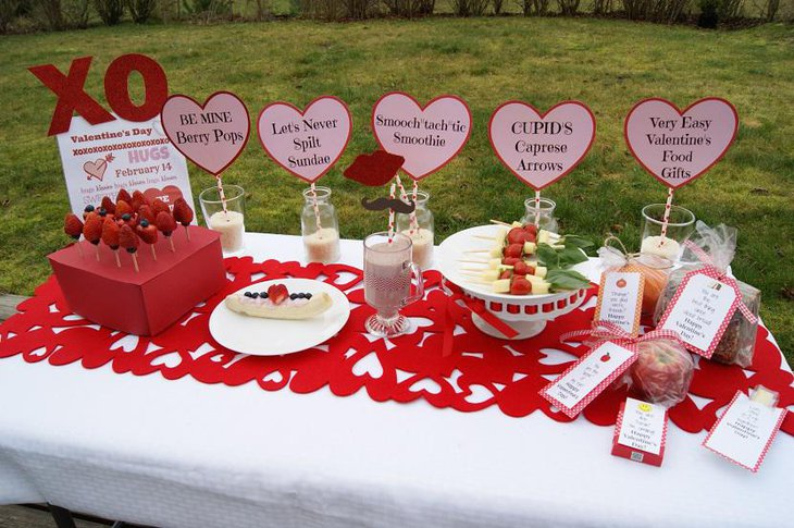 Adorable Decoration for Valentine Brunch