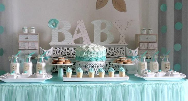 Amazing Baby Boy Spring Baby Shower Ideas