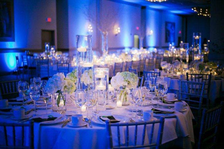 Malibu Blue Centerpiece Ideas : Easy wedding table decor ideas decorating