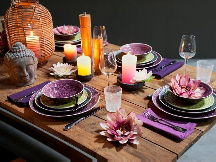 30 table setting ideas for party table decorating ideas for Thai decorations ideas