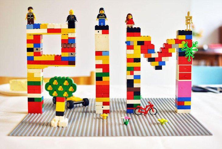 Amazing Lego Blocks As Birthday Table Centerpiece