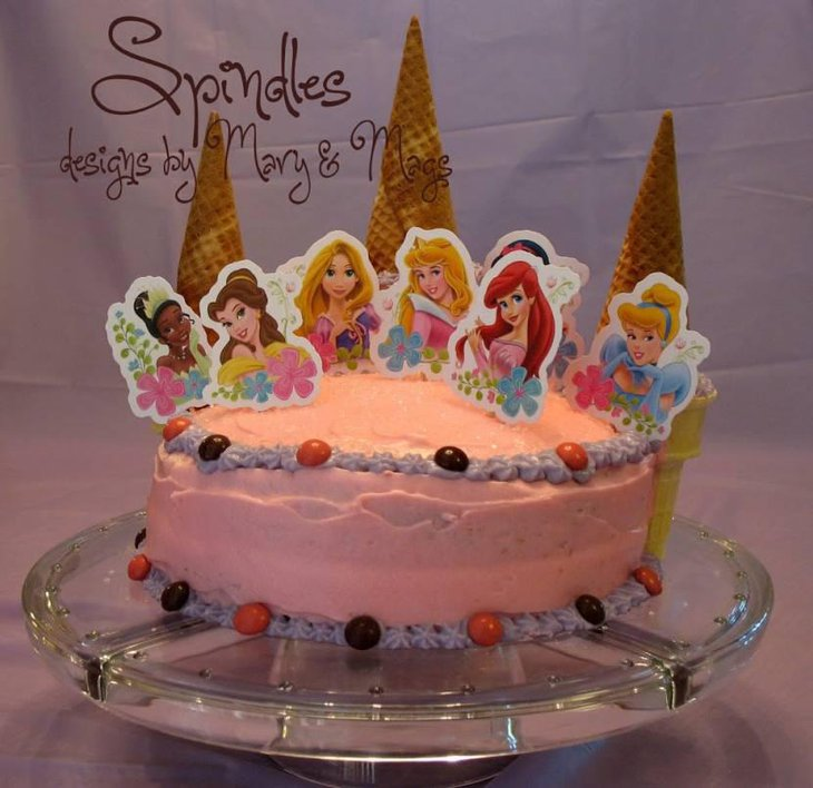 Amazing Princess Birthday Cake