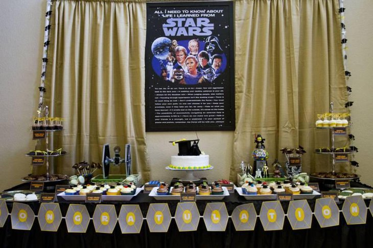 Amazing Star Wars Dessert Table