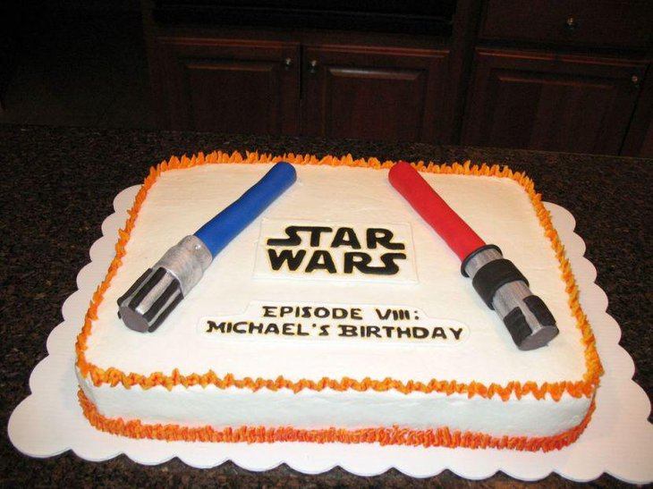Amzing Star Wars Birthday Cake