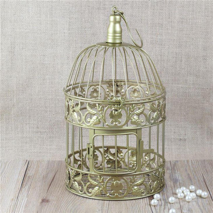 Unique birdcage centerpieces for weddings table