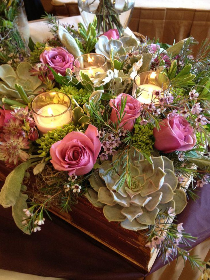 37 Stunning Wedding Candle Centerpieces Table Decorating