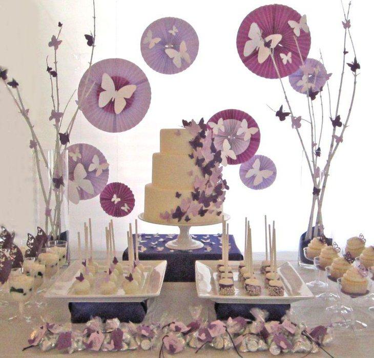 35 Delicious Bridal Shower Desserts Table Ideas