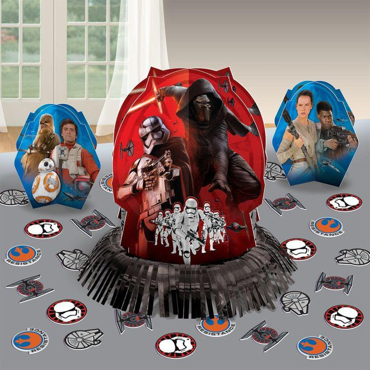 Awesome Star Wars birthday party table decorations