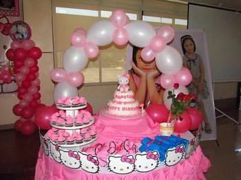 Hello Kitty Zebra Birthday Party Ideas