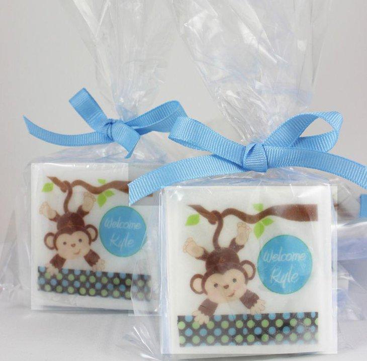 41 exquisite baby shower favor ideas table decorating ideas - Monkey baby shower favors ideas ...