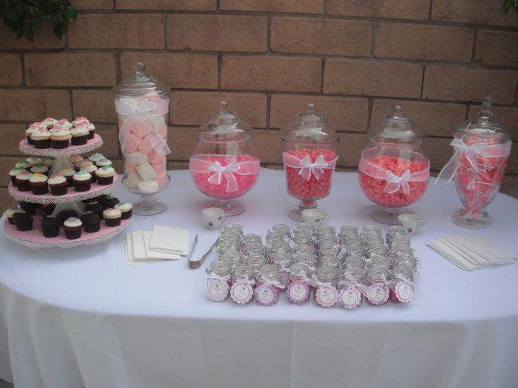 31 Baby Shower Candy Table Decoration Ideas Table