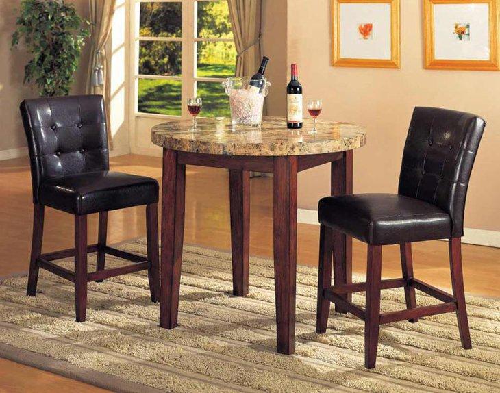 Elegant round dining table ideas decorating