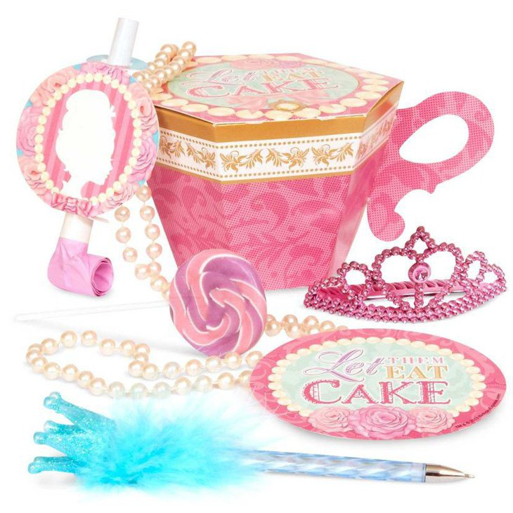 Beautiful Princess tea party favour box