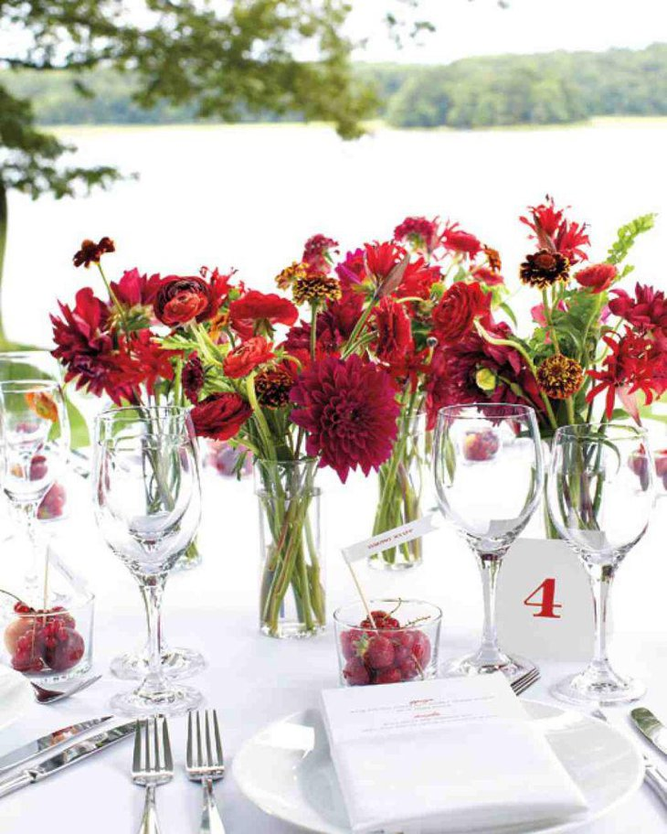 33 Beautiful Flower Beds Adding Bright Centerpieces To: 33 Innovative Wedding Themes For Summer
