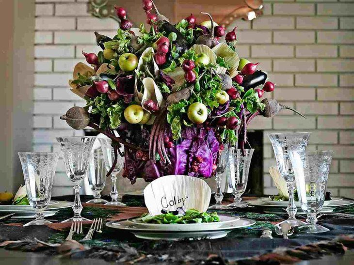 Beautiful table centerpiece for St Patricks Day
