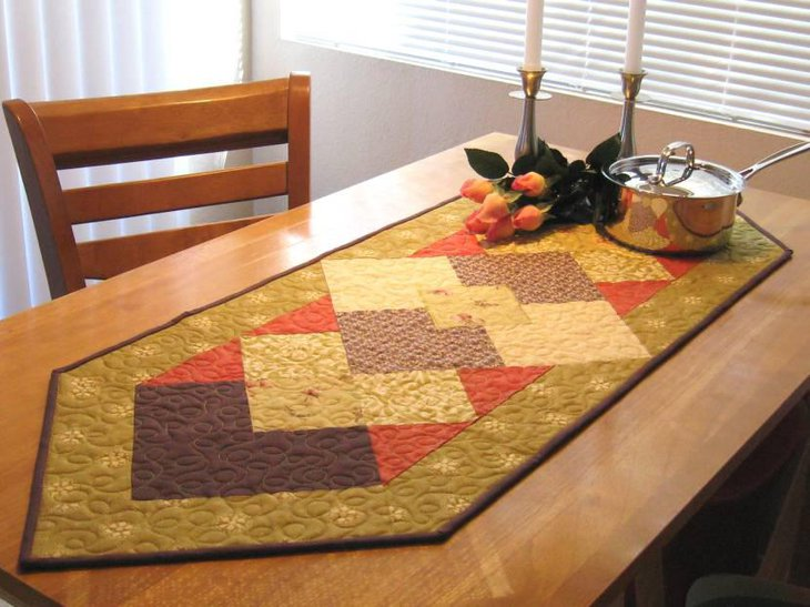 Beautiful Table Runner for Thanksgiving