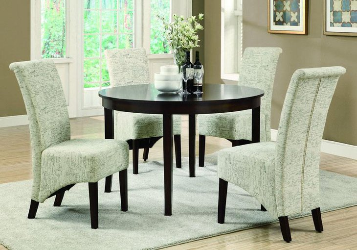 37 Elegant Round Dining Table Ideas Table Decorating Ideas