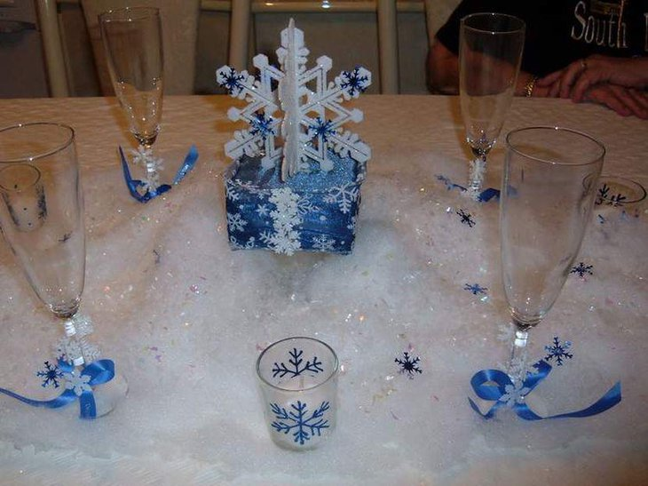 Innovative winter table decorations decorating