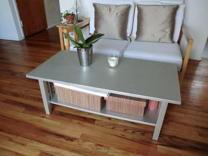 Chic DIY decor idea on coffee table