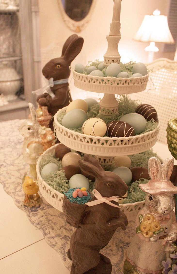 35 Beautiful Easter Centerpieces Ideas | Table Decorating ...