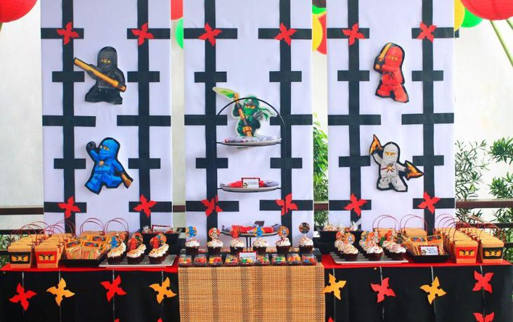 35 Lego Theme Party Table Decoration Ideas | Table Decorating Ideas