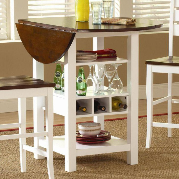 25 dining room tables for small spaces table decorating for Dining room table ideas for small spaces