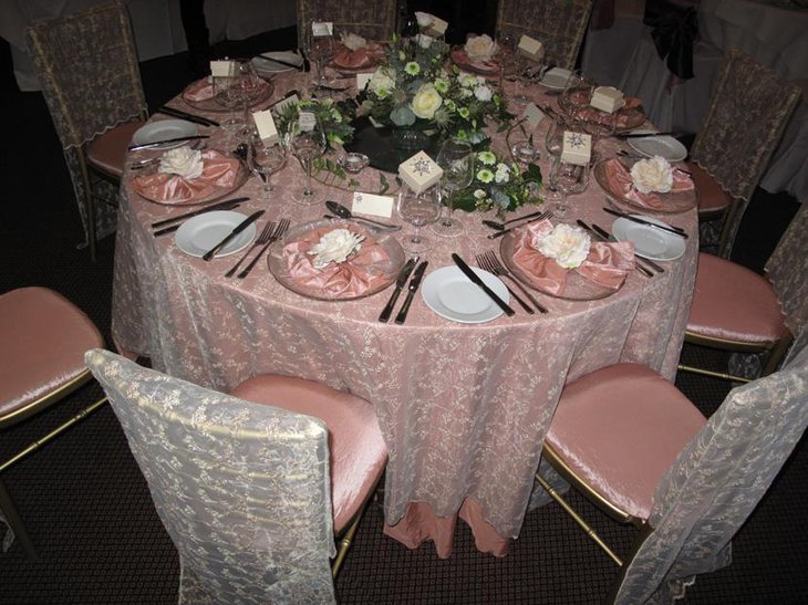 Creative Lace Table Overlay Linen for Weddings