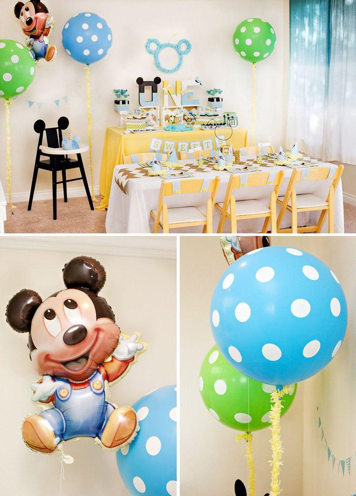 37 cool first birthday party ideas for boys table for Table design for 1st birthday