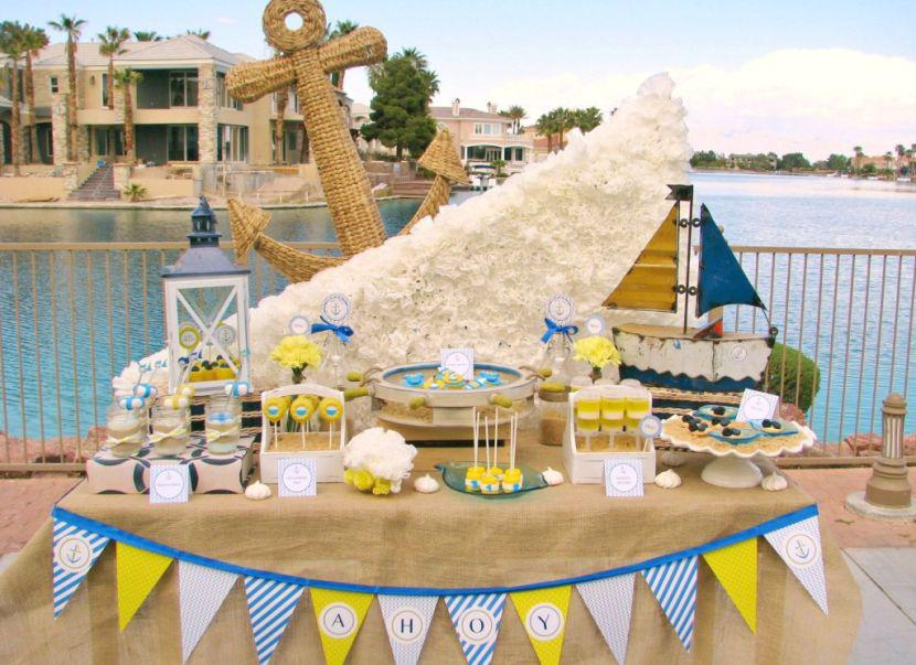 33 Unique Nautical Baby Shower Ideas | Table Decorating Ideas
