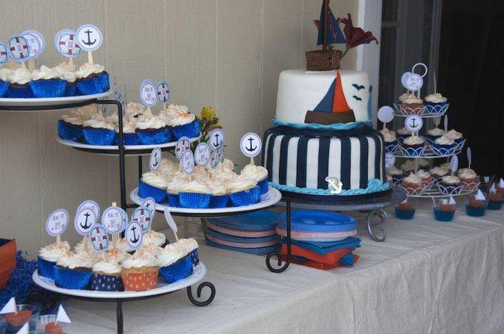 33 unique nautical baby shower ideas table decorating ideas
