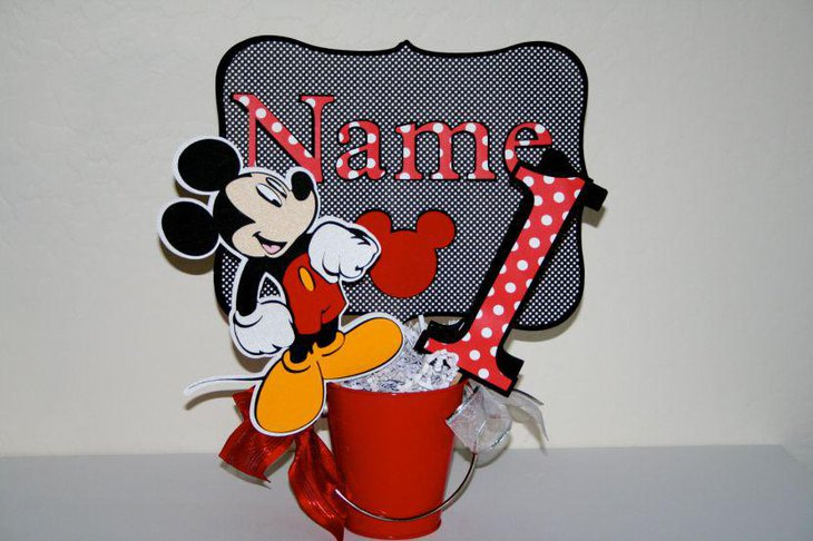 37 Adorable Mickey Mouse Birthday Party Ideas Table Decorating Ideas