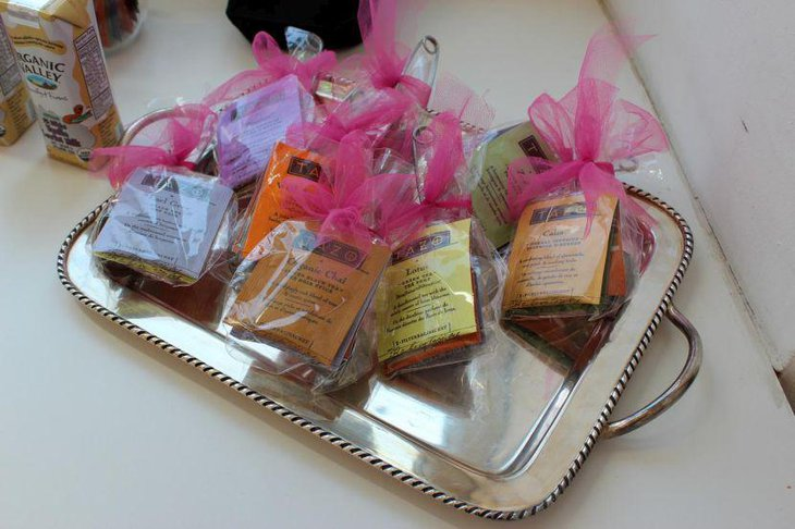Cute tea party favors ideas
