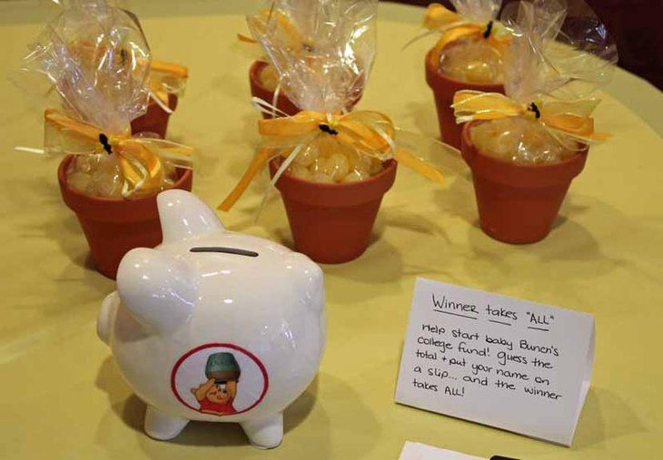 Cute Winnie The Pooh baby shower sweet favors
