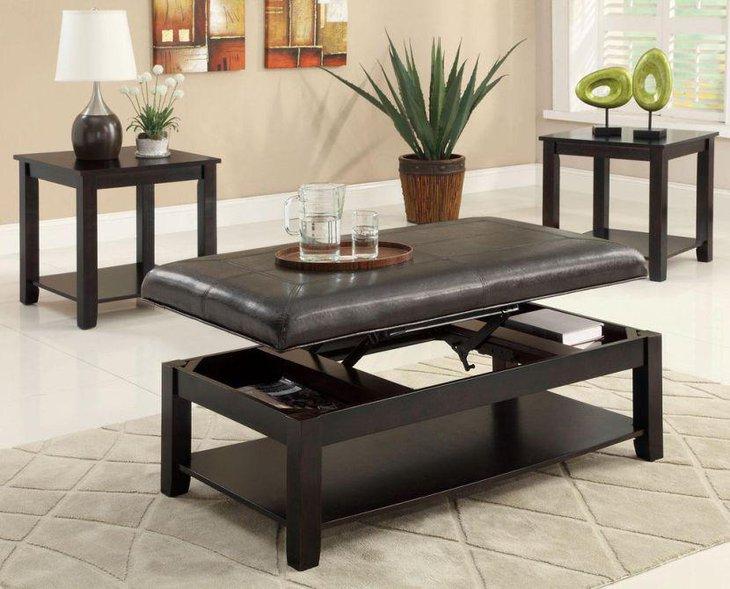 35 creative lift top coffee table ideas. Black Bedroom Furniture Sets. Home Design Ideas