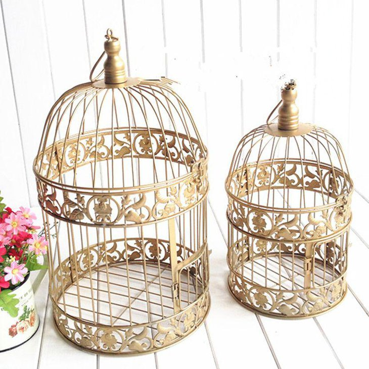 37 unique birdcage centerpieces for weddings table decorating ideas. Black Bedroom Furniture Sets. Home Design Ideas