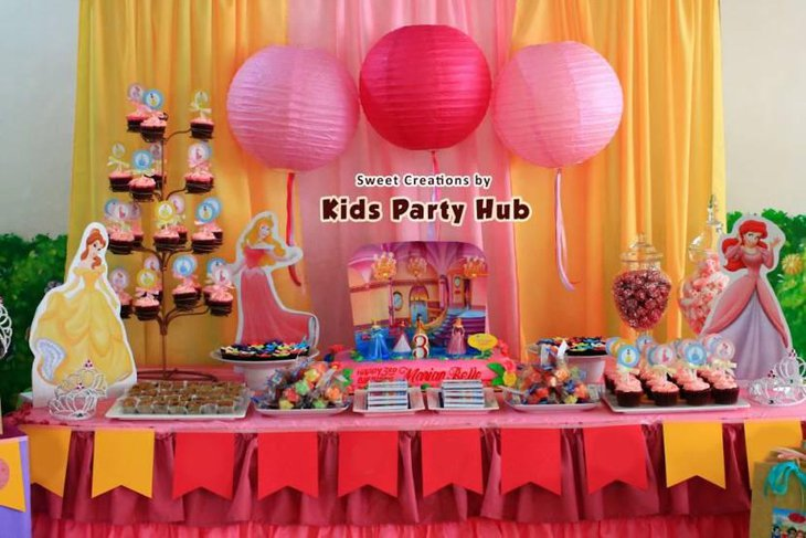 Belle Party Decorations 40 Gorgeous Disney Princess Birthday Party Cool Belle Party Decorations