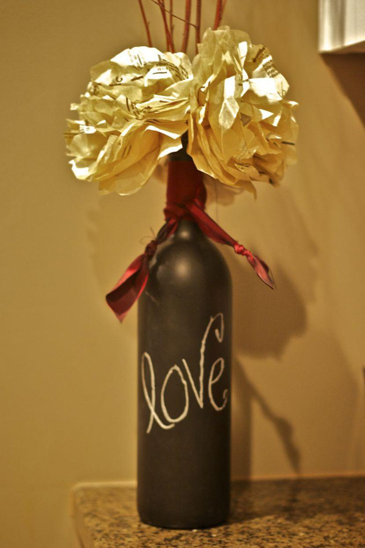 Wine bottle centerpieces that compliments every event