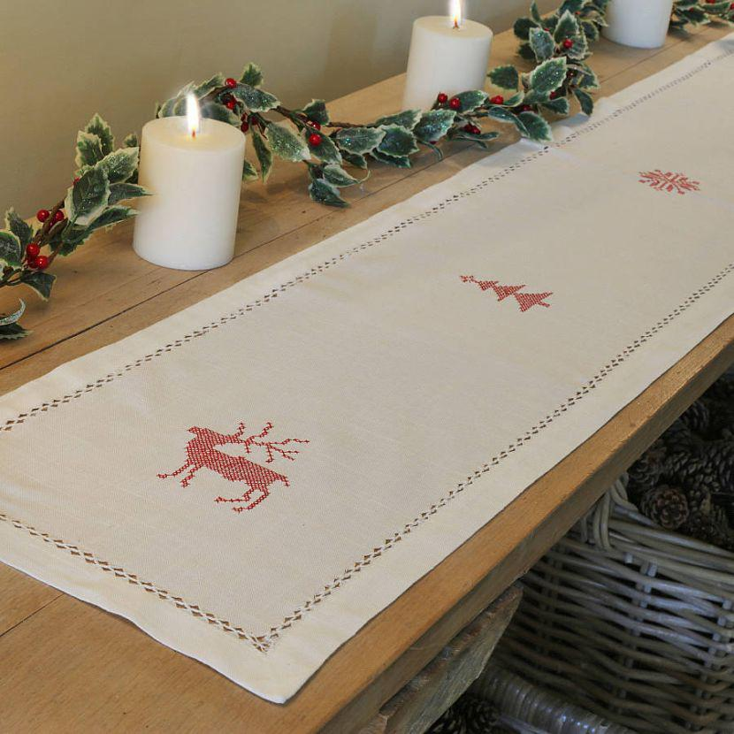 Diy holiday table runner do it your self