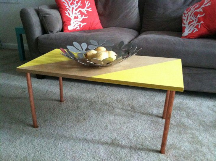 Diy Coffee Table With Fruit Bowl Centrepiece
