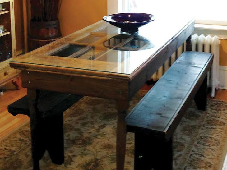 33 Diy Dining Room Tables Easy To Make