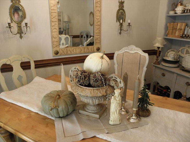 Dining table centerpiece ideas decorating