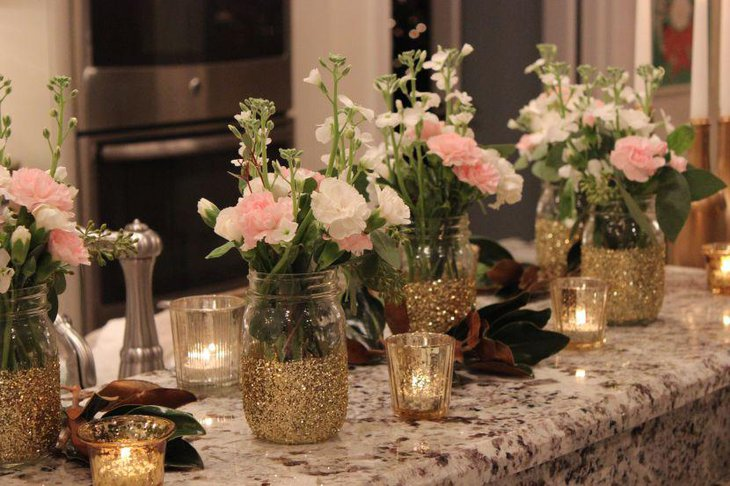 Mason Jar Decorating Ideas For Weddings - Elitflat