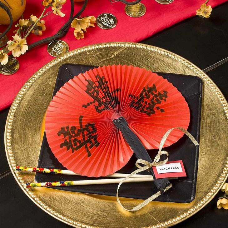 DIY New Year Chinese Table Decoration