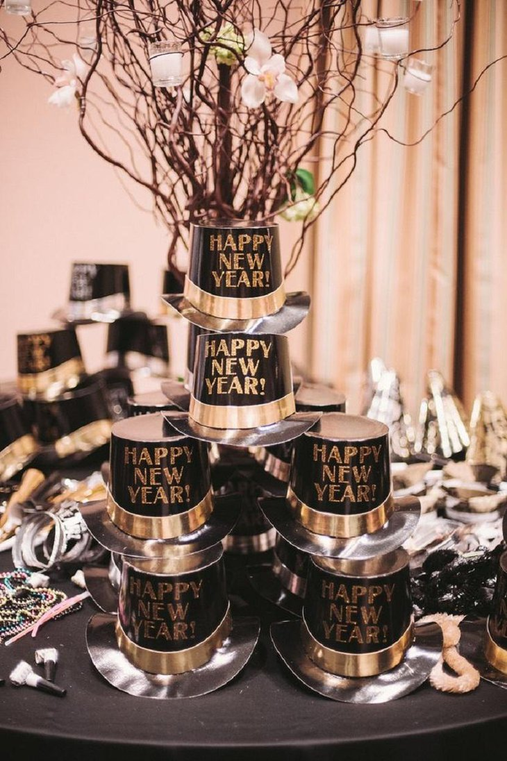 30 diy new year table decoration ideas table decorating for Decoration de table