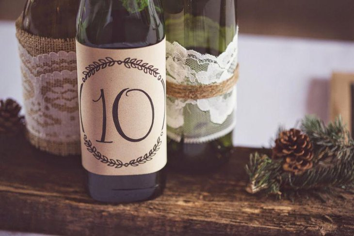 37 Wine Bottle Centerpieces That Compliments Every Event