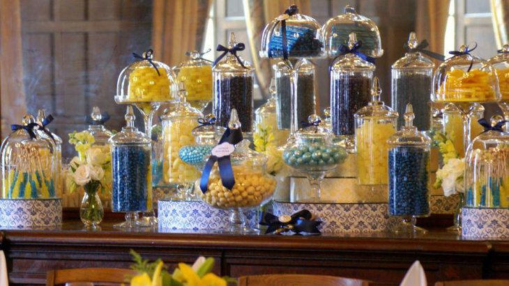 Diy candy table ideas for wedding decorating