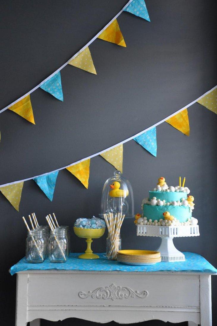 37 creative spring baby shower ideas for boys table decorating ideas - Creative boy baby shower themes ...