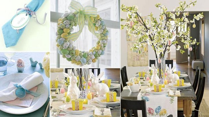 Easter Themed Baby Shower Party Decor