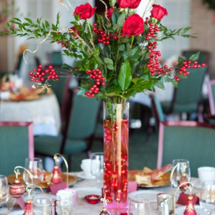 Elegant Bridal Shower Centerpiece