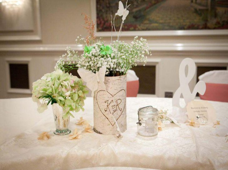 Elegant DIY wedding table decor